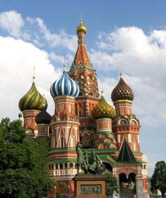 Собор Покрова на рву храм Василия Блаженного